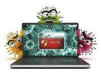 Laptop PC repair viruses removed