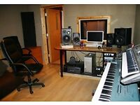 WANTED - Music Studio Space for Rent on Long-Term Basis (monthly)