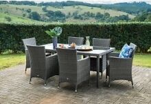 NEW Barbosa 7 piece dining set - $100 cheaper than Amart + Warranty Cornubia Logan Area Preview