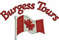 BURGESS TOURS ~ 2015 TOURS CALL TO BOOK TODAY