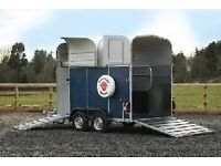 Richardson Supreme Ultra two horse trailer