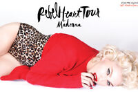 2 tickets to Madonna @ Rexall Oct 12! Gold Club!