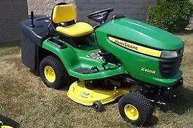 Ride on lawnmower John Deere X300R 20hp 42 inch cut rear collector 179 hours