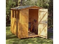 6 x 4 Garden Shed - Albany Sheds, Bourne Featheredge Apex originally purchased from Bourne Buildings