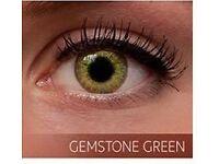 Freshlook Colorblends Natural Looking in Gemstone Green Color