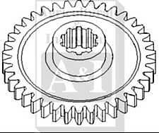 Pto Driven Gear 38 Teeth Case Tractor Vac -a29384-
