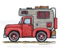 WANTED: Truck camper to rent