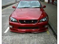 Lexus is200 trd tte bits wanted