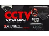 CCTV CAMERA INSTALLATION 1XDVR 500GB 4XCAMERA FULL HD 1080P £550