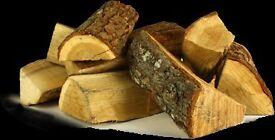 Seasoned Hardwood Logs for sale - £45/£25 per tonne/half tonne bag ** local delivery avaliable**