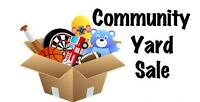 Yard Sale Fundraiser for Fort McMurray
