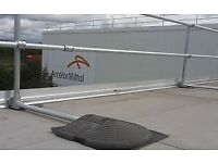 10 uprights, keeguard, kee safety, roof fall protection