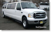14 pax SUV limousine FORD EXCURSION limo low miles 19 500$ obo