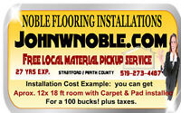 Flooring Installer 28 Yrs Exp.