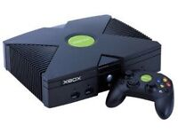 Original Classic Xbox with nine games