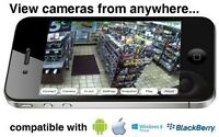 SECURITY CAMERA / Home Alarm System with INSTALLATION - HD CCTV
