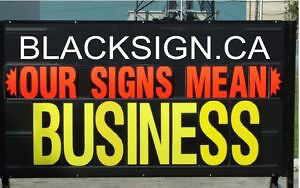 Mobile Signs by: BlackSign.ca Cambridge Kitchener Area image 2