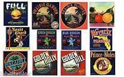 Vintage Labels Lot