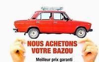 WE BUY USED CARS / ON ACHETE AUTO USAGE ET NEUF