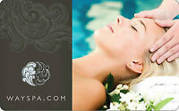 Two $150 WaySpa gift cards - separately or together