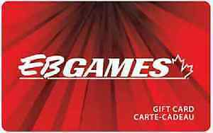 Canadian tire and EB Games gift cards for trade