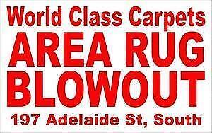 NO TAX SALE - Area Rugs - World Class Carpets & Flooring