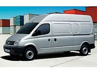 Van hire 20 per hour 07943660960