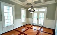 Interior painting and drywall