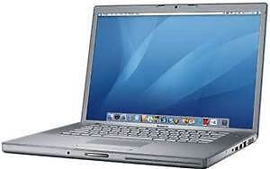 macbook pro 17 inch c2d 2.6ghz 4gb 500gb webcam nvidia mac os