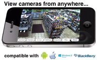 Security Camera System with INSTALLATION - HD CCTV