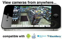 SECURITY CAMERA and ALARM SYSTEM with PROFESSIONAL INSTALLATION.
