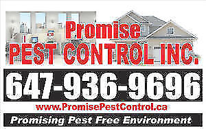 PROMISE PEST CONTROL - 647 936 9696 - BEST PRICE EXTERMINATORS.