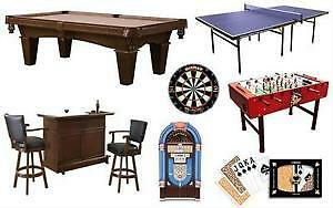 PINBALL MACHINES , SHUFFLEBOARDS ,ARCADE GAMES