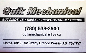 Quik n' easy repairs for all makes and models