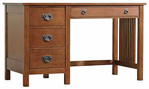Stickley Antiquities Computer Desk and Hutch