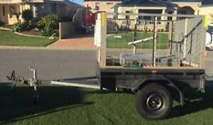 Heavy Duty Trailer 6X4 with cage and toolbox - licensed Hillarys Joondalup Area Preview
