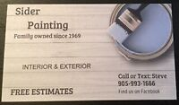 Sider Painting - Interior & Exterior