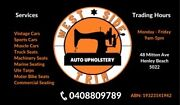 AUTO UPHOLSTERY MOTOR TRIMMERS Truck Boat Car Seat Repairs Henley Beach Charles Sturt Area Preview