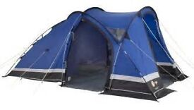 Excellent condition, used only once, large 4 man tent - have lots of equipment not inlucded in price