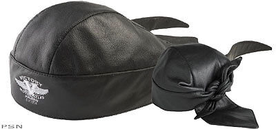 Victory Motorcycle Leather Skull Cap Brand Leather Hat