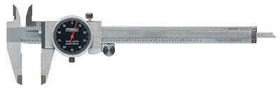 Fowler 52-008-005-0 Dial Caliper 0-6 Range .001 Resolution
