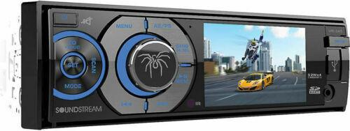 "SOUNDSTREAM VR-345B 1-DIN AptiX Source Unit, w/ Bluetooth, & Detach 3.4"" LCD"