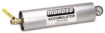 Moroso 23900 Engine Oil Accumulator - 3 Quart Capacity - With Valve and Gauge