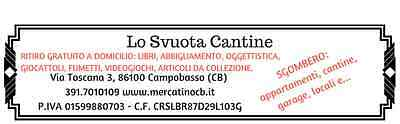 Lo Svuota Cantine Campobasso MOLISE