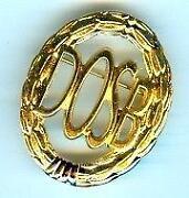 Sportabzeichen Gold