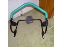 Abdo trim ab cruncher exercise machine