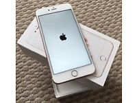Apple iPhone 6s 16gb Rose Gold on O2 Immaculate condition