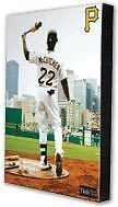 Andrew McCutchen Canvas Photo Pittsburgh Pirates New In Shrink Wrap!