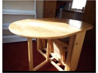 Fold-Away Table and 4 Chairs