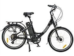 FREEGO WREN 10AH BLACK ELECRTIC BICYCLE